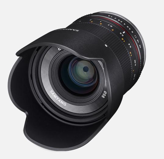 Объектив Samyang Fuji X 21mm f/1.4 ED AS UMC CS