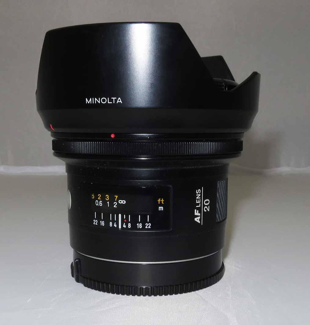 Объектив Minolta AF 20 f2,8 б/у