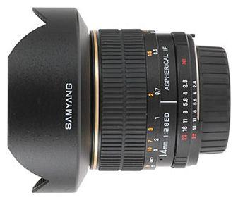 Объектив Samyang Canon EF 14mm f/2.8 ED AS IF UMC