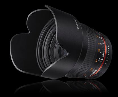 Объектив Samyang Canon EF 50mm f/1.4 AS UMC