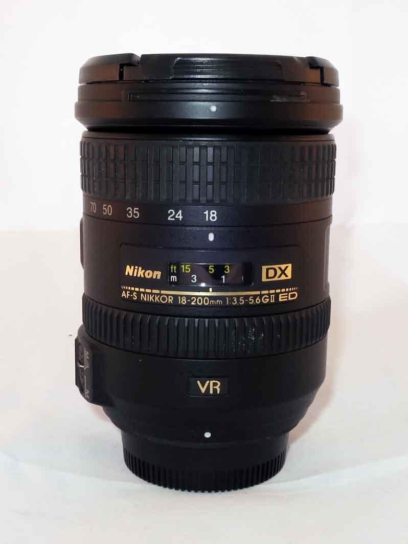 Объектив Nikon Nikkor AF-S 18-200 f/3.5-5.6 VR II б/у