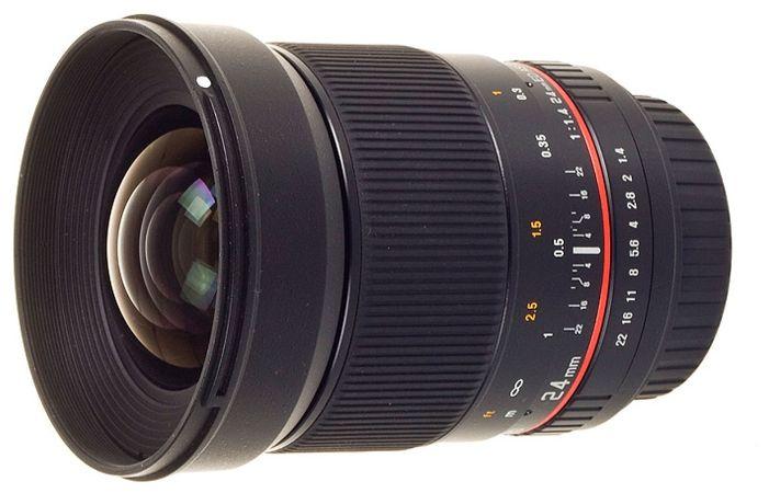 Объектив Samyang Nikon 24 mm F/1.4 AE