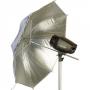 Зонт Falcon Eyes 90см URN-48SW серебристый / белый