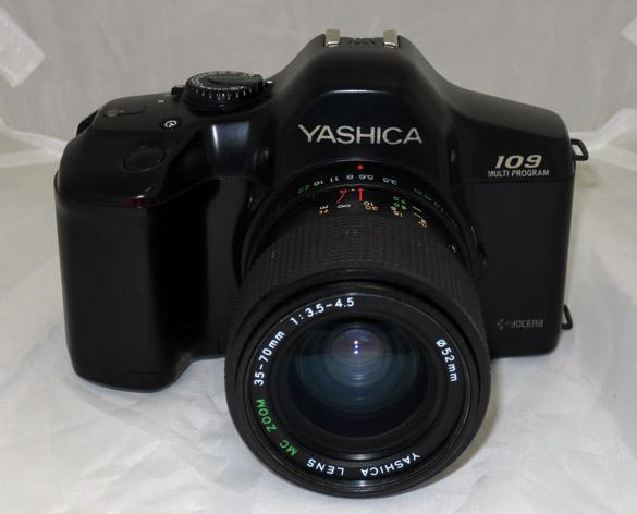 Ф/т плёночный Yashica 109 35-70 F3.5-4.5 б/у