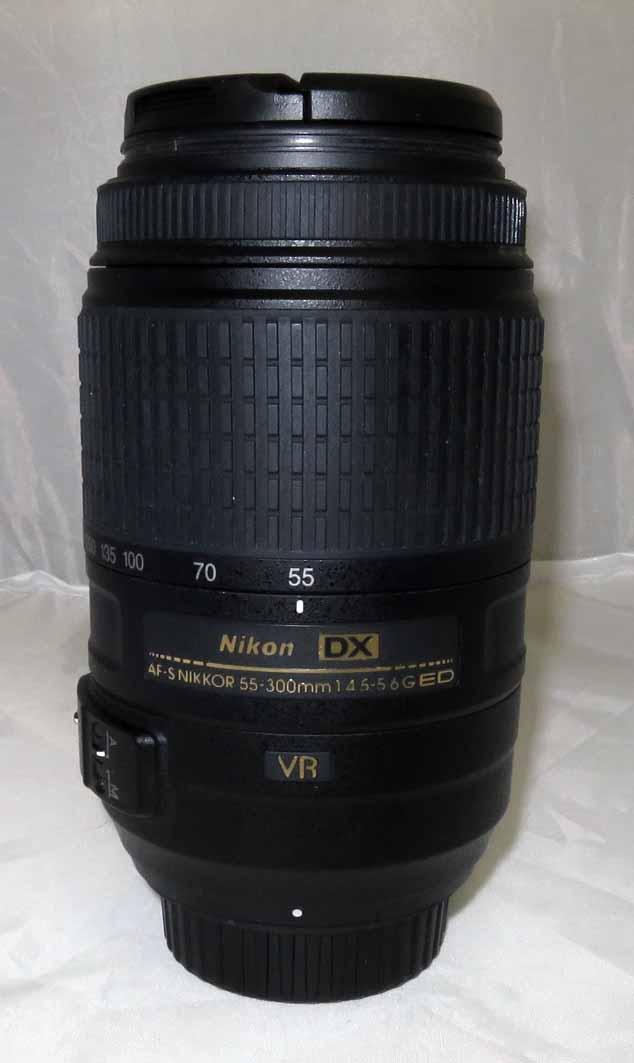 Объектив Nikon Nikkor AF 55-300 mm f/4.0-5.6 G VR б/у