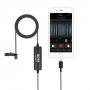 Микрофон BOYA BY-DM1 Петличный для Apple с разъемом лайтинг