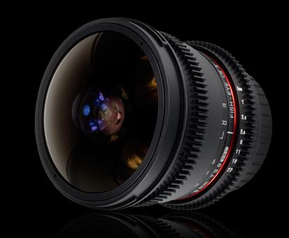 Объектив Samyang Canon EF 8mm T3.8 AS IF UMC Fish-eye CS II VDSLR