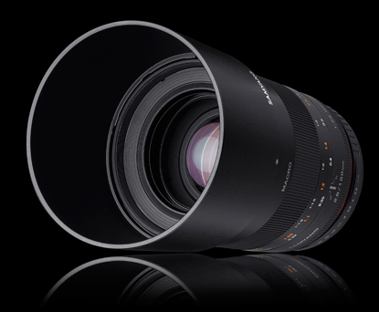 Объектив Samyang Canon EF 100mm f/2.8 ED UMC Macro