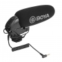Микрофон накамерный BOYA BY-BM3032 суперкардиоидный конд. пушка