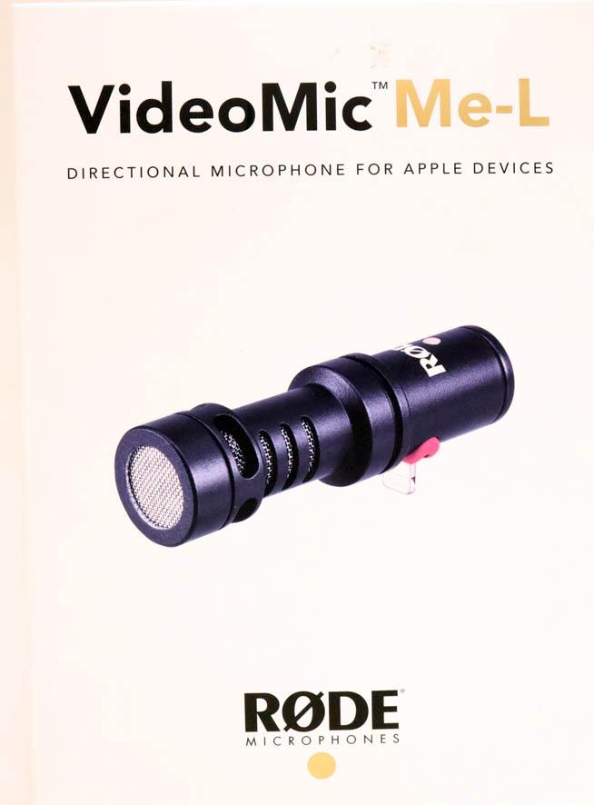 Микрофон Rode VideoMic Me-L для iOS б/у
