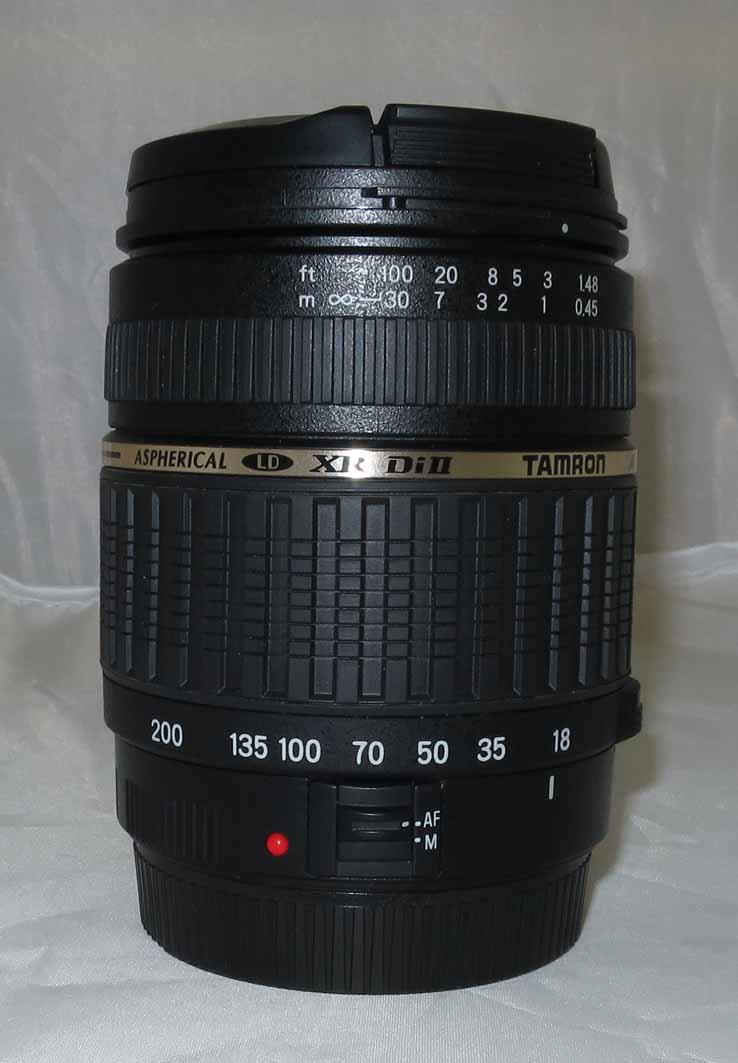 Объектив Tamron (Canon) AF 18-200 F/3,5- 6,3 II б/у