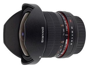 Объектив Samyang Canon EF 8 mm F/3.5 AS IF UMC Fisheye CS II