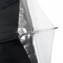 Зонт Falcon Eyes URK-32TSB1 белый/серебр/черн/просв/отраж 82 см