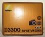 Фотоаппарат Nikon D3300 Kit AF-P 18-55 VR black б/у