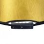 Отражатель Falcon Eyes 102х168 см RFR-4066GS HL золот / серебро ручки