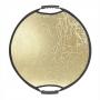 Отражатель Falcon Eyes 56см CFR-22M HL круглый полосы золото-серебро