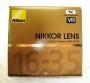 Объектив Nikon Nikkor AF-S 16-35 mm F/4 G ED VR б/у