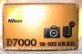 Фотоаппарат Nikon D7000 body б/у