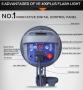 Импульсный осветитель Visico VE-200 PLUS с рефлектором 200 Вт