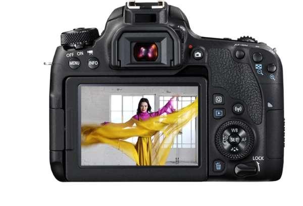 Canon EOS 77D, экран