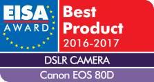 Canon EOS 80D - лучшая камера 2016-2017 по версии EISA