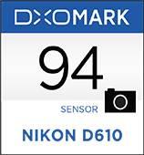 Nikon D610 DxOMark