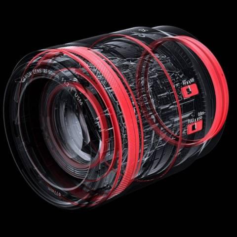 Объектив Canon RF 50mm F1.2L USM описание