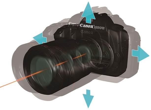 Случайные движения фотокамеры