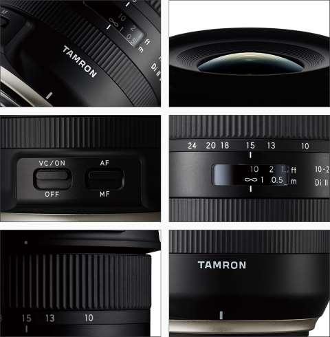 Объектив Tamron 10-24mm F/3.5-4.5 Di II VC HLD B023 описание