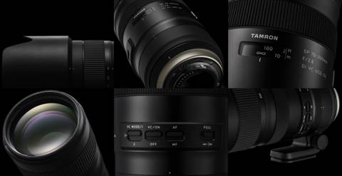 Объектив Tamron SP 70-200mm F/2.8 Di VC USD G2 A025 описание