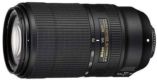 Объектив AF-P Nikkor 70-300mm f/4.5-5.6E ED VR