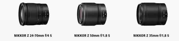 Новые объективы линейки  Nikon Z